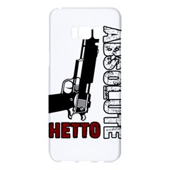 Absolute Ghetto Samsung Galaxy S8 Plus Hardshell Case  by Valentinaart