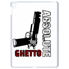 Absolute Ghetto Apple Ipad Pro 9 7   White Seamless Case by Valentinaart