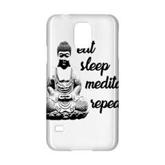 Eat, Sleep, Meditate, Repeat  Samsung Galaxy S5 Hardshell Case  by Valentinaart