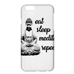 Eat, Sleep, Meditate, Repeat  Apple Iphone 6 Plus/6s Plus Hardshell Case by Valentinaart