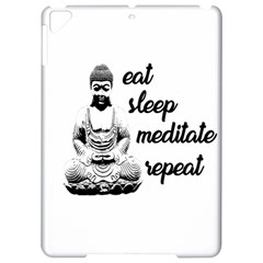 Eat, Sleep, Meditate, Repeat  Apple Ipad Pro 9 7   Hardshell Case by Valentinaart