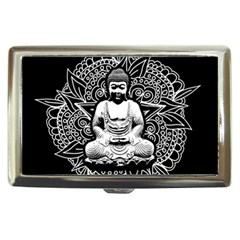 Ornate Buddha Cigarette Money Cases by Valentinaart
