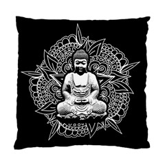 Ornate Buddha Standard Cushion Case (one Side) by Valentinaart