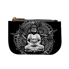 Ornate Buddha Mini Coin Purses by Valentinaart