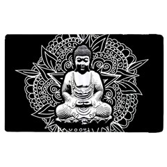 Ornate Buddha Apple Ipad 3/4 Flip Case by Valentinaart