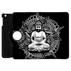 Ornate Buddha Apple Ipad Mini Flip 360 Case by Valentinaart
