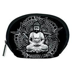 Ornate Buddha Accessory Pouches (medium)  by Valentinaart