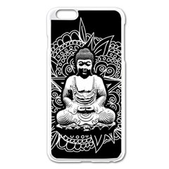 Ornate Buddha Apple Iphone 6 Plus/6s Plus Enamel White Case by Valentinaart
