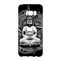Ornate Buddha Samsung Galaxy S8 Hardshell Case  by Valentinaart