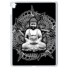 Ornate Buddha Apple Ipad Pro 9 7   White Seamless Case by Valentinaart