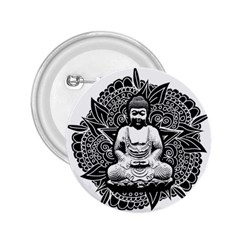 Ornate Buddha 2 25  Buttons by Valentinaart