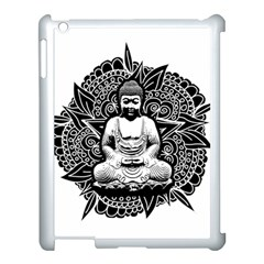 Ornate Buddha Apple Ipad 3/4 Case (white) by Valentinaart
