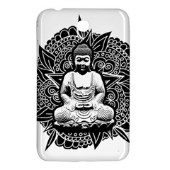 Ornate Buddha Samsung Galaxy Tab 3 (7 ) P3200 Hardshell Case  by Valentinaart