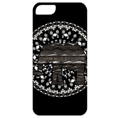 Ornate Mandala Elephant  Apple Iphone 5 Classic Hardshell Case by Valentinaart