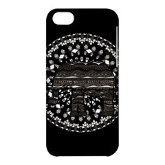 Ornate Mandala Elephant  Apple Iphone 5c Hardshell Case by Valentinaart