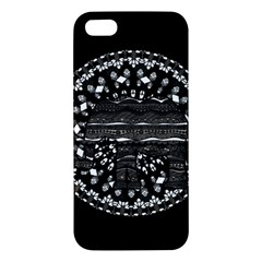 Ornate Mandala Elephant  Iphone 5s/ Se Premium Hardshell Case by Valentinaart