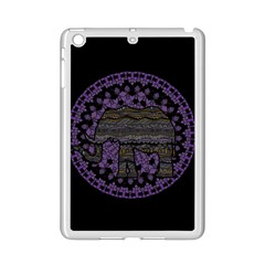 Ornate Mandala Elephant  Ipad Mini 2 Enamel Coated Cases by Valentinaart