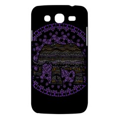 Ornate Mandala Elephant  Samsung Galaxy Mega 5 8 I9152 Hardshell Case  by Valentinaart