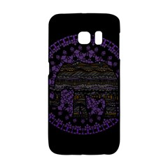 Ornate Mandala Elephant  Galaxy S6 Edge by Valentinaart