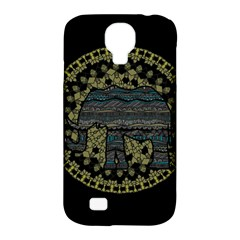 Ornate Mandala Elephant  Samsung Galaxy S4 Classic Hardshell Case (pc+silicone) by Valentinaart
