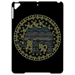 Ornate mandala elephant  Apple iPad Pro 9.7   Hardshell Case by Valentinaart