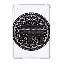 Ornate Mandala Elephant  Apple Ipad Mini Hardshell Case (compatible With Smart Cover) by Valentinaart