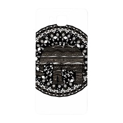 Ornate Mandala Elephant  Samsung Galaxy Alpha Hardshell Back Case by Valentinaart