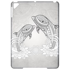 Beautiful Dolphin, Mandala Design Apple Ipad Pro 9 7   Hardshell Case