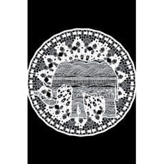 Ornate Mandala Elephant  5 5  X 8 5  Notebooks by Valentinaart
