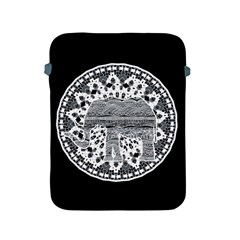 Ornate Mandala Elephant  Apple Ipad 2/3/4 Protective Soft Cases by Valentinaart