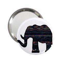 Ornate Mandala Elephant  2 25  Handbag Mirrors by Valentinaart