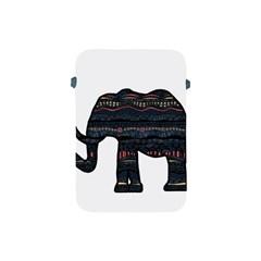 Ornate Mandala Elephant  Apple Ipad Mini Protective Soft Cases by Valentinaart