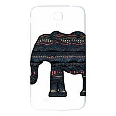 Ornate Mandala Elephant  Samsung Galaxy Mega I9200 Hardshell Back Case by Valentinaart