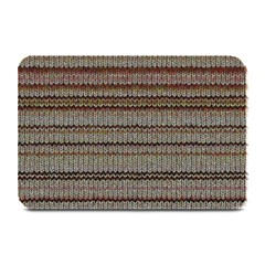 Stripy Knitted Wool Fabric Texture Plate Mats by BangZart
