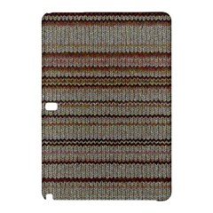 Stripy Knitted Wool Fabric Texture Samsung Galaxy Tab Pro 12 2 Hardshell Case