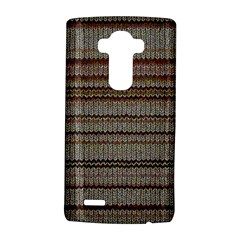 Stripy Knitted Wool Fabric Texture Lg G4 Hardshell Case by BangZart