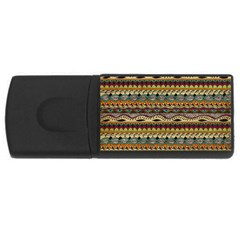 Aztec Pattern USB Flash Drive Rectangular (2 GB)