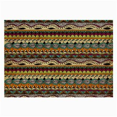 Aztec Pattern Large Glasses Cloth by BangZart