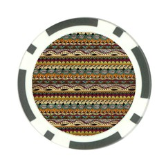 Aztec Pattern Poker Chip Card Guard (10 Pack)