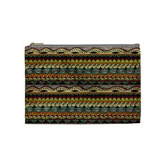 Aztec Pattern Cosmetic Bag (medium)