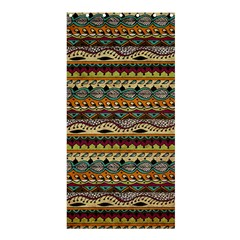 Aztec Pattern Shower Curtain 36  X 72  (stall)  by BangZart