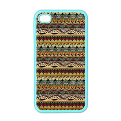 Aztec Pattern Apple Iphone 4 Case (color) by BangZart