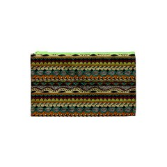 Aztec Pattern Cosmetic Bag (xs) by BangZart