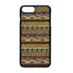 Aztec Pattern Apple Iphone 7 Plus Seamless Case (black) by BangZart