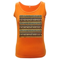 Aztec Pattern Women s Dark Tank Top by BangZart