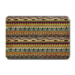 Aztec Pattern Small Doormat  by BangZart