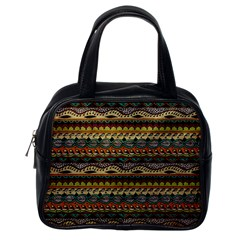 Aztec Pattern Classic Handbags (one Side)
