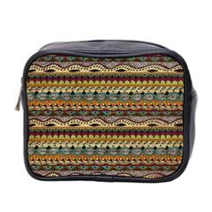 Aztec Pattern Mini Toiletries Bag 2 Side by BangZart