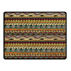 Aztec Pattern Fleece Blanket (small) by BangZart