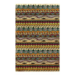 Aztec Pattern Shower Curtain 48  X 72  (small)  by BangZart